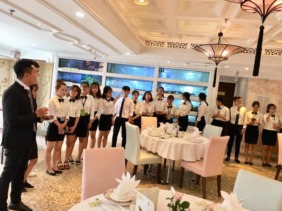 Trường Cao đẳng Kinh tế - Kỹ thuật Vinatex thành phố Hồ Chí Minh đào tạo ngành Quản trị nhà hàng và dịch vụ ăn uống