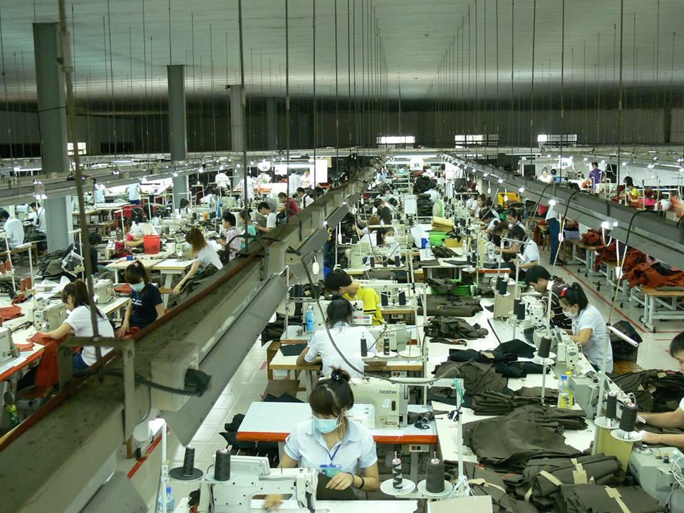Xưởng may thời trang của trường cao đẳng vinatex