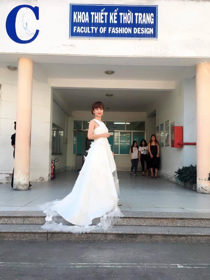 Khoa thiết kế thời trang của trường Vinatex