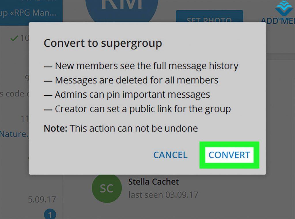 Tạo nhóm chat với tối đa 200.000 thành viên