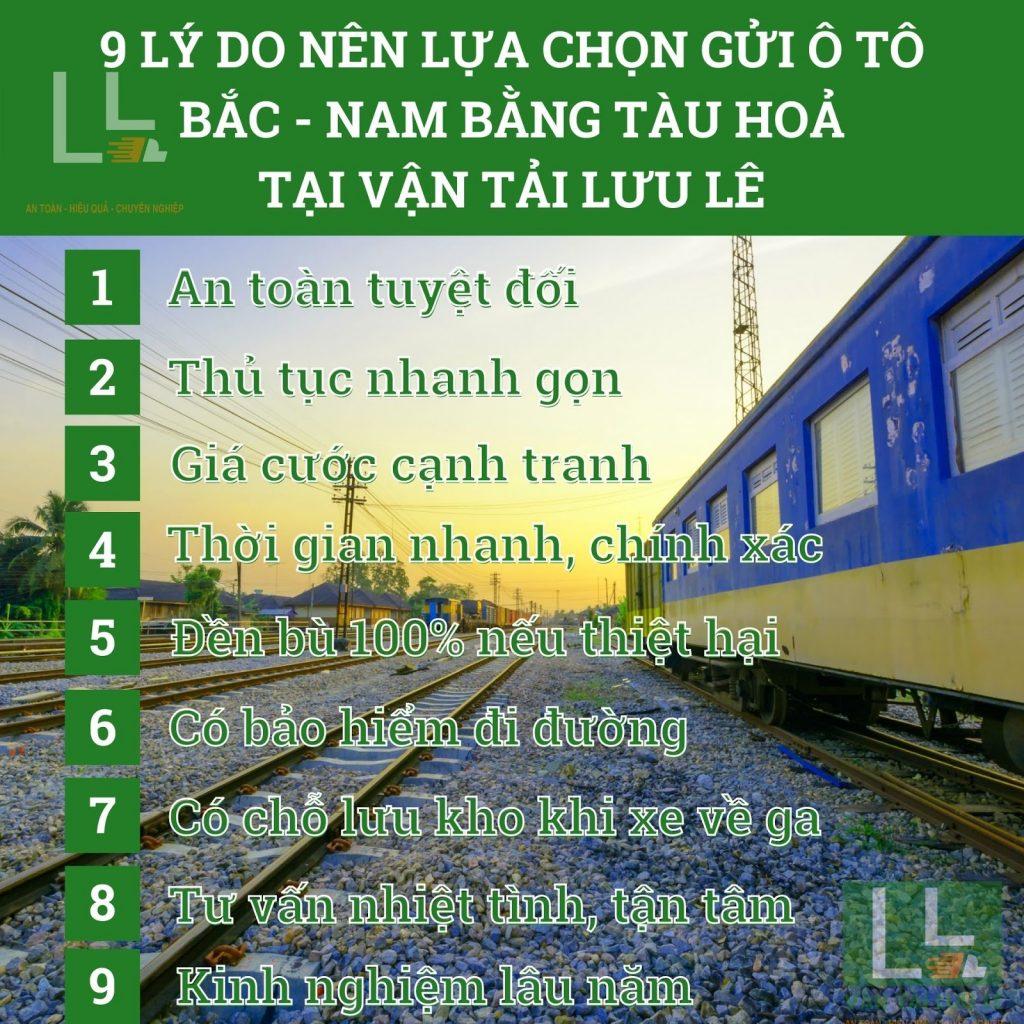 9 lí do nên chọn vận tải Lưu Lê