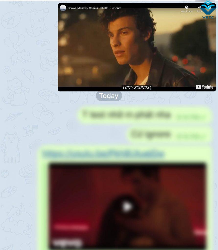 Xem video YouTube trong khi đang trò chuyện